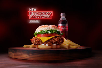KFC Smokey Dunked